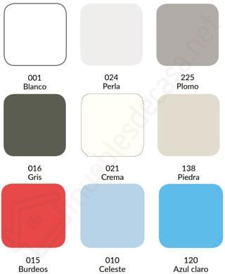 colores combi estelia 144h algodon poliester