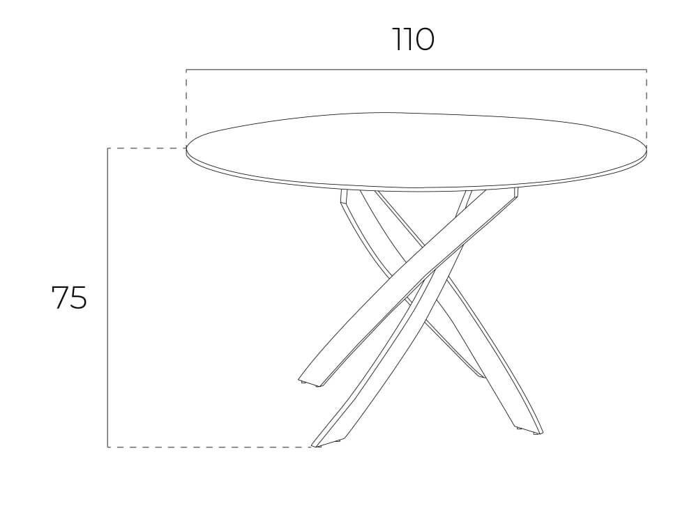mesa redonda f2133