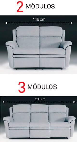 Modulos 2 y 3 sofa estoril