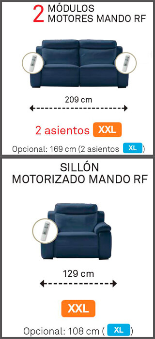 Sillon motorizado y modulo 2 nebraska