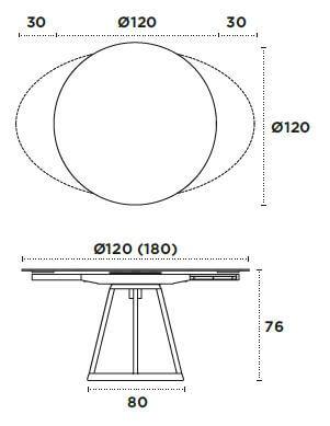 medidas mesa alice nacher 120