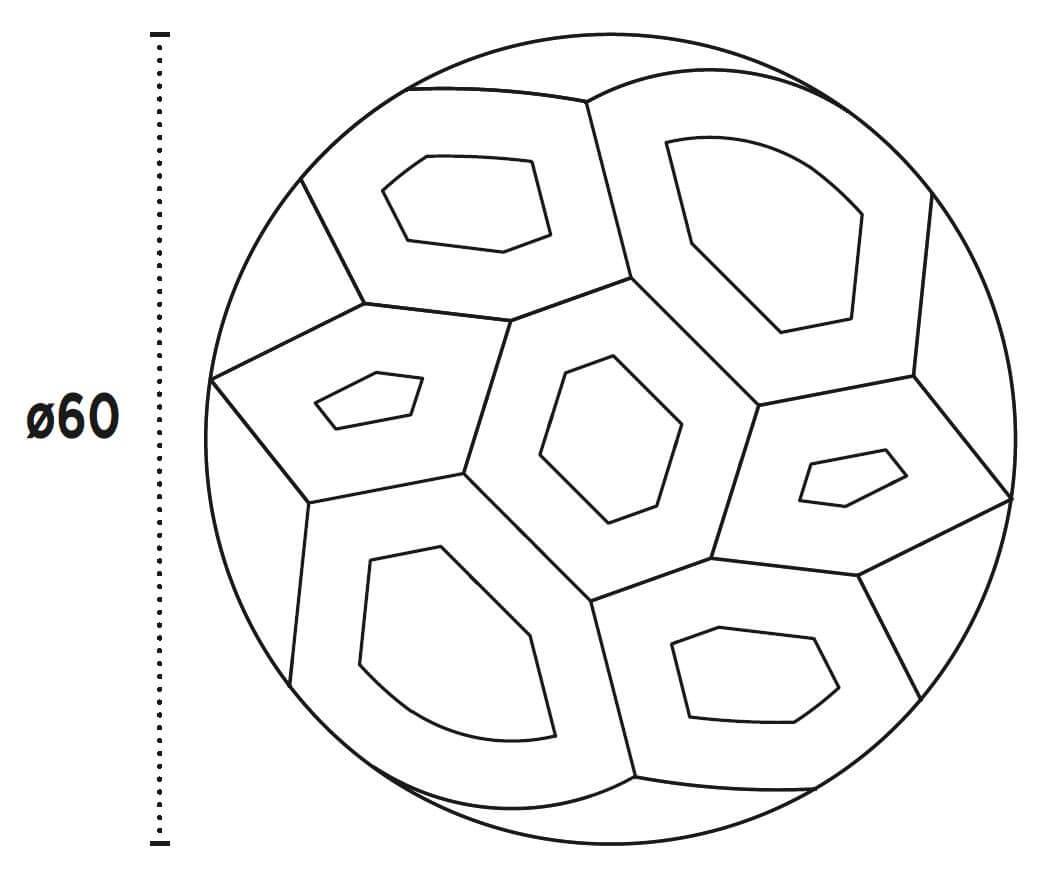 diametro mesa kame