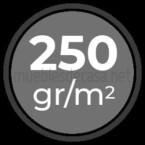 simbolo 250gr/m2