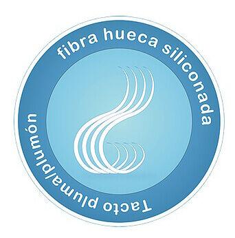fibra hueca siliconada