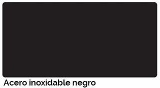 Estructura acero Epoxi negro