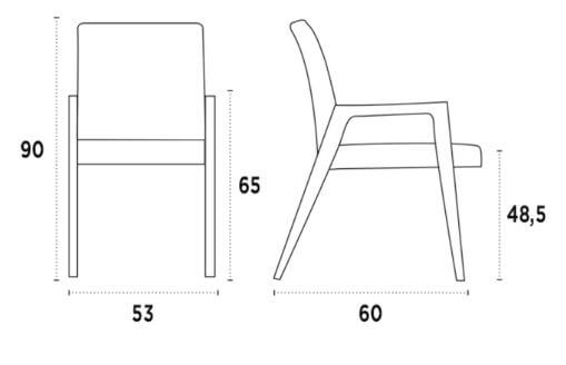 medidas silla etro wood b nacher