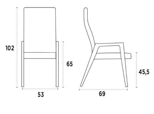 medidas silla igni wood b nacher